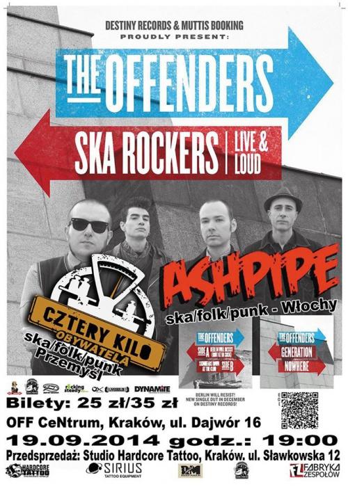 The Offenders - koncert w Krakowie