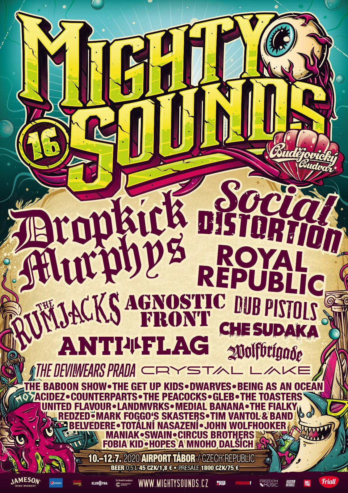 Mighty Sounds festival poster