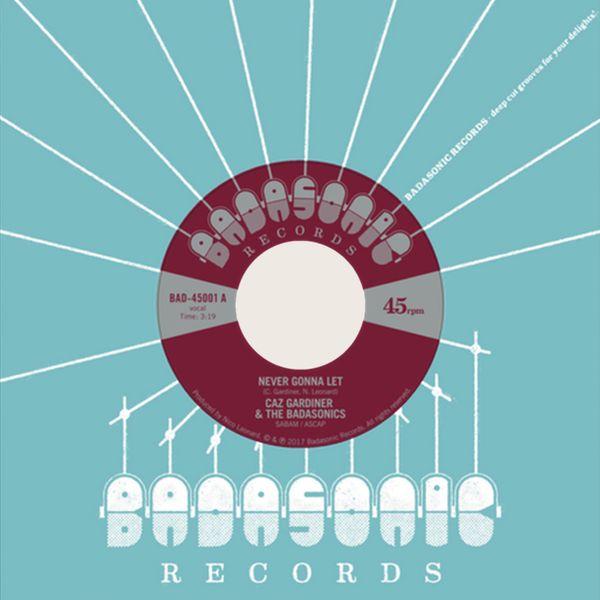 Caz Gardiner's single on vinyl
