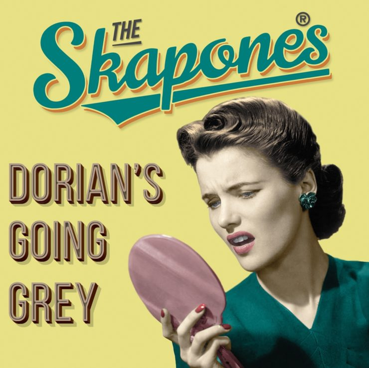 "Cover of The Skapones single ""Dorian's Going Grey"""