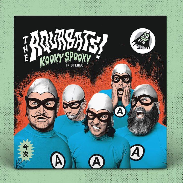 The Aquabats - Kooky Spooky... in Stereo! - okładka