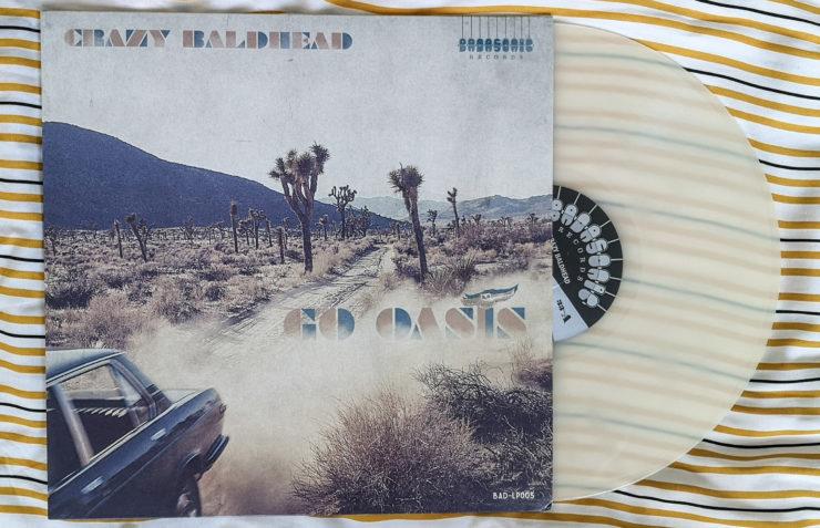 Crazy Baldhead – Go Oasis - okładka