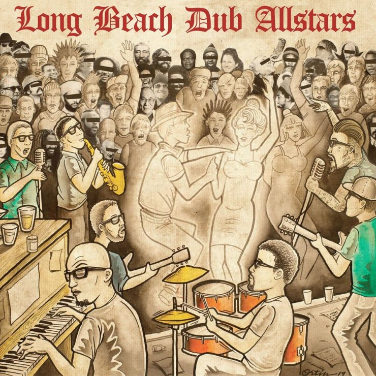 Long Beach Dub Allstars - self titled - okładka