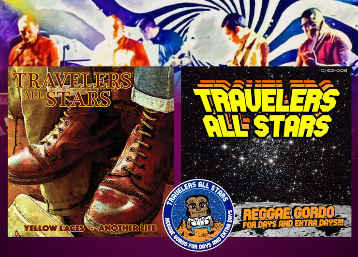 Travelers All Stars - Yellow Laces & Reggae Gordo - okładki
